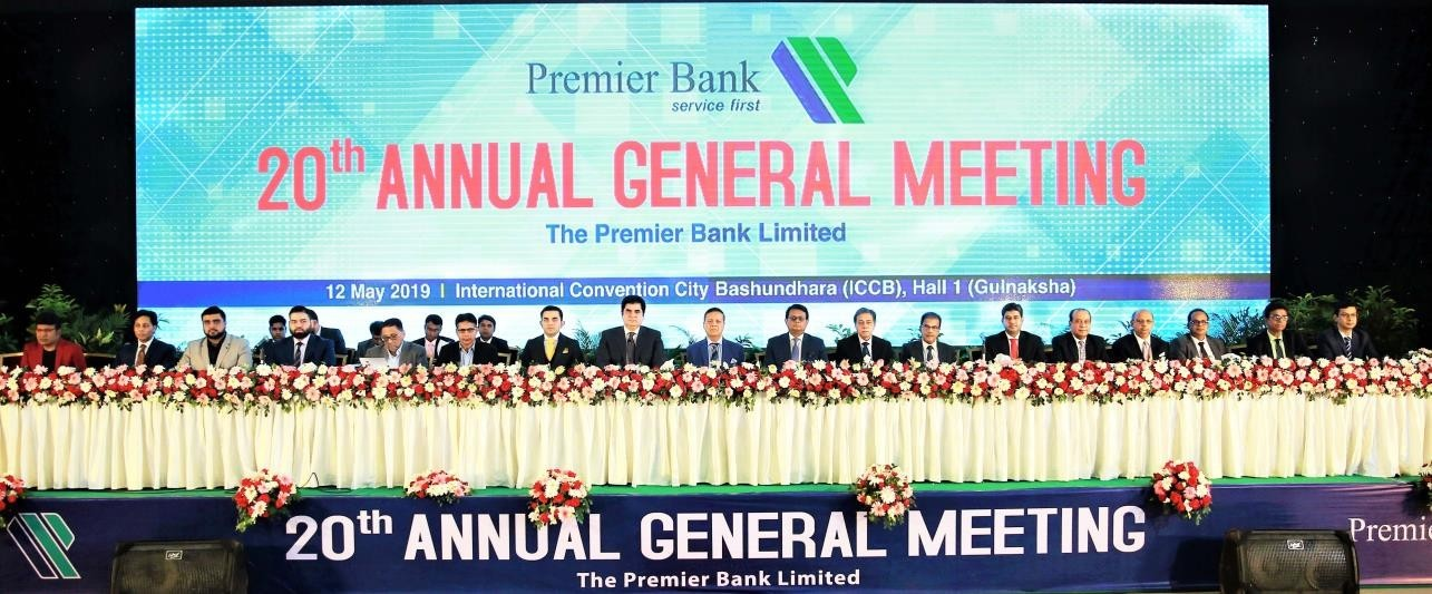 Premier Bank's 20th Agm Held