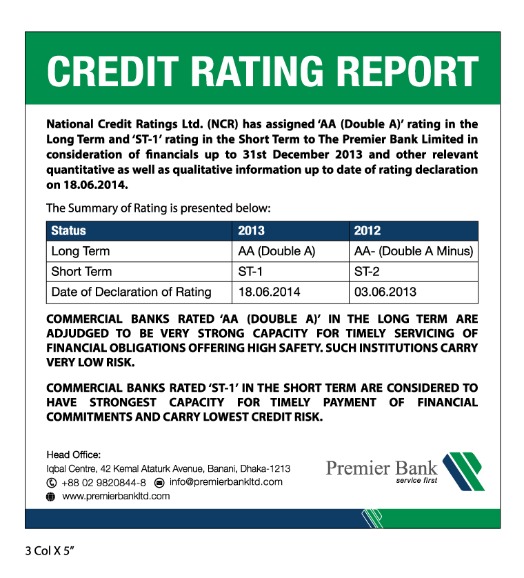 credit rating of uttara bank limited Financial highlights annual reports credit rating auditors' report and financial statement janata bank limited will be an effective commercial bank by.